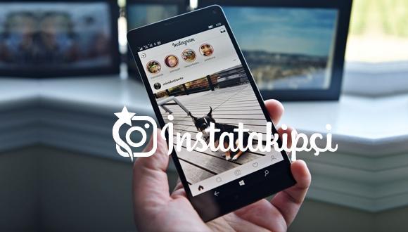 Instagram mobil site üzerinden paylaşım
