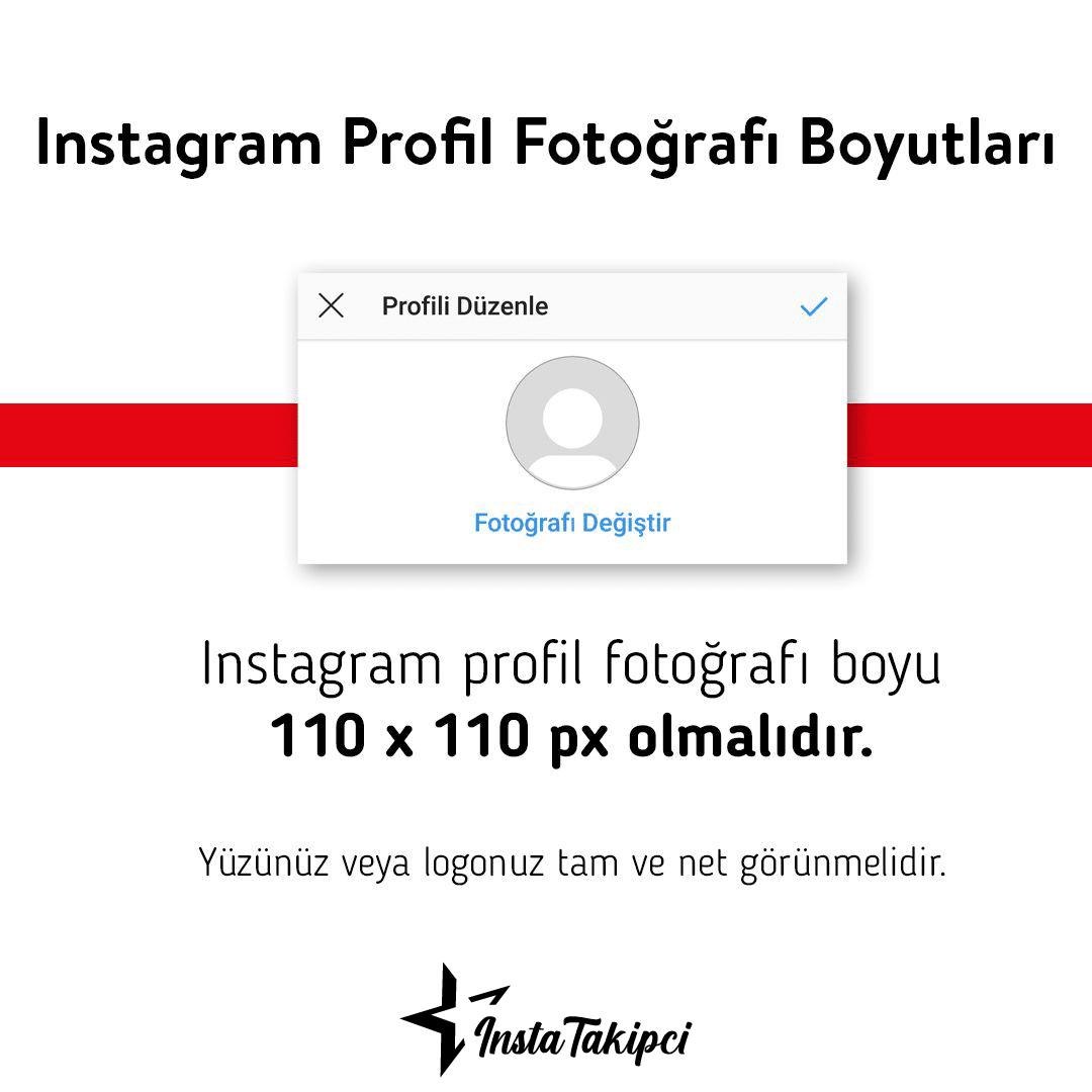 instagram profil fotoğrafı boyutu