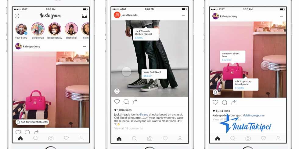 instagram ürün belirleme