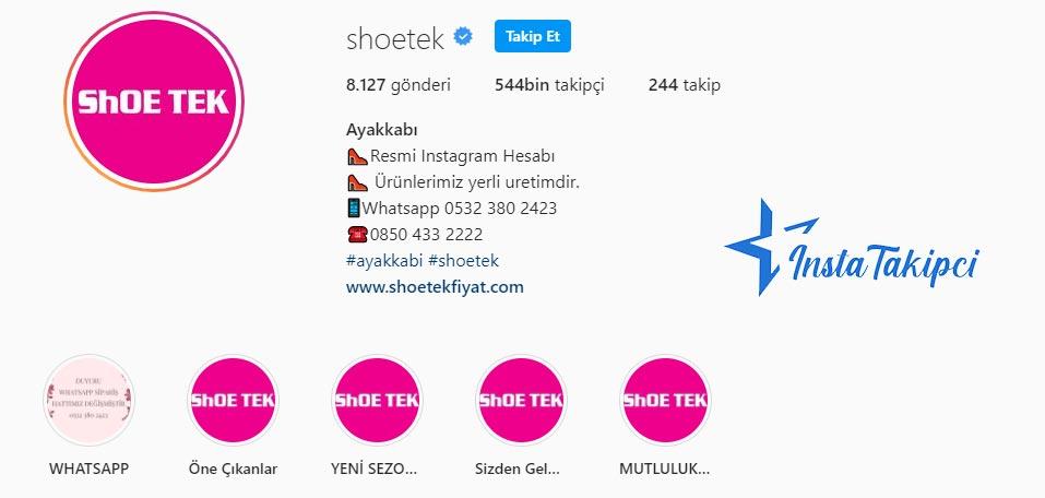 instagram butik shoetek