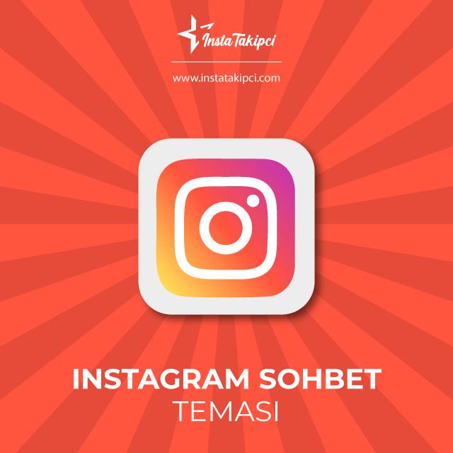 instagram sohbet teması değiştirme