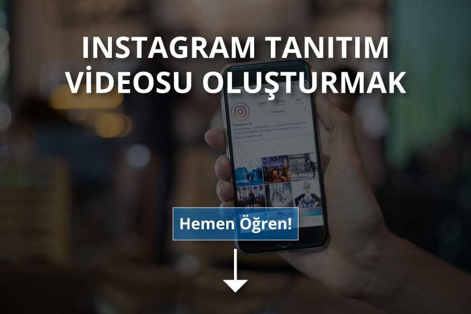 Instagram Tanıtım Videosu Oluşturmak