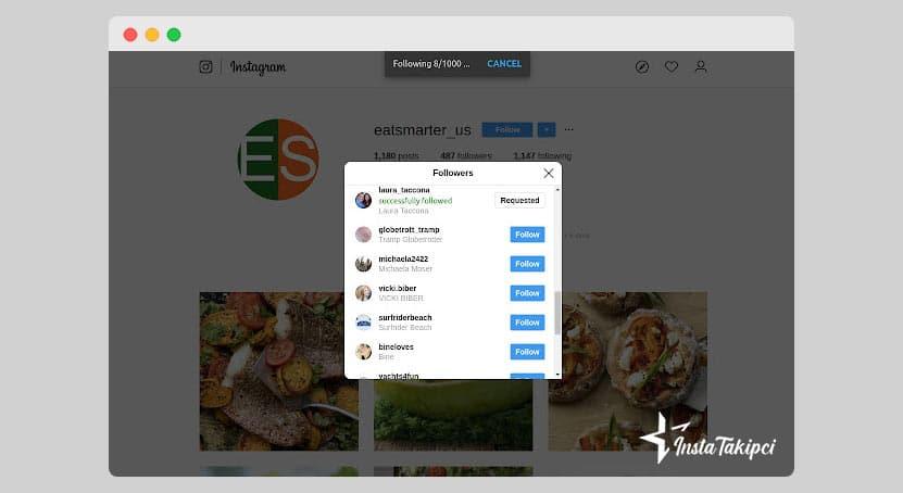 instagram toplu takip bırakma superpowers