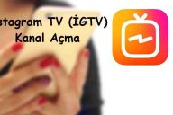Instagram TV ( İGTV ) Kanal Açma