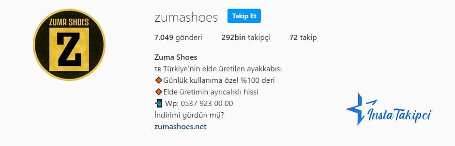 instagram butik zuma shoes