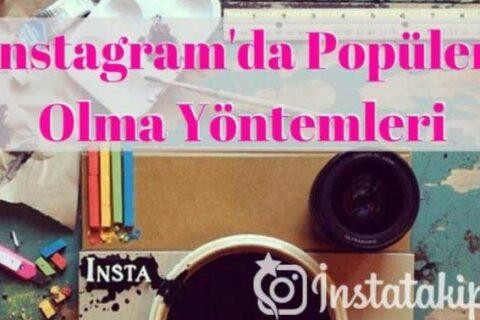 Instagram'da Popüler Olma