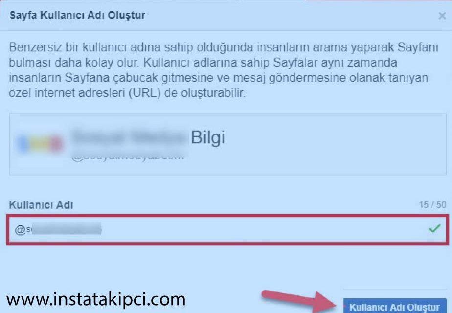 facebook sayfa adı değiştirme