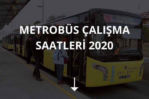 Metrobüs Çalışma Saatleri