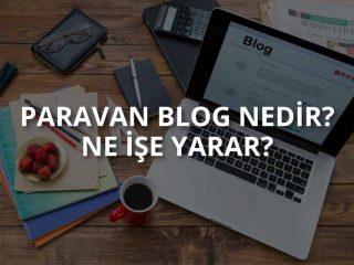 Paravan Blog Nedir? Ne İşe Yarar?