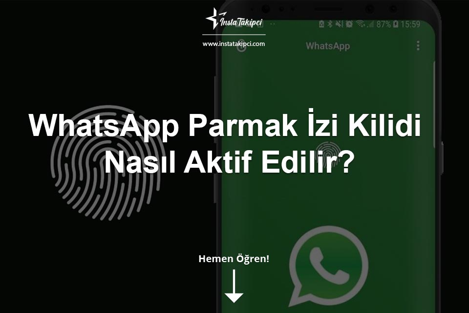 WhatsApp Parmak İzi