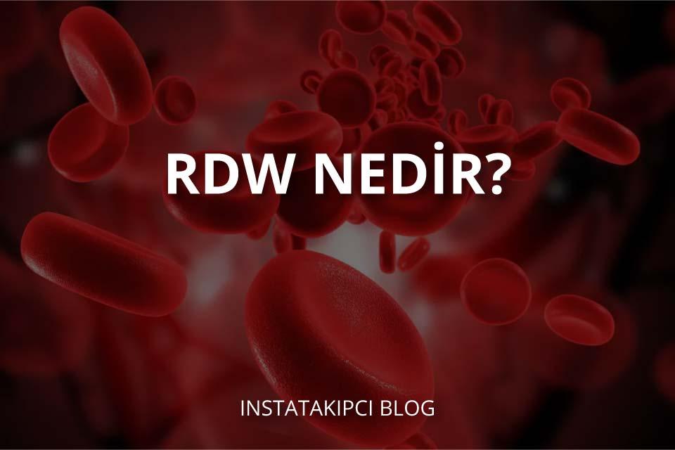 RDW Nedir?