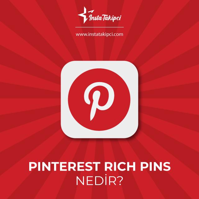 pinterest rich pins nedir