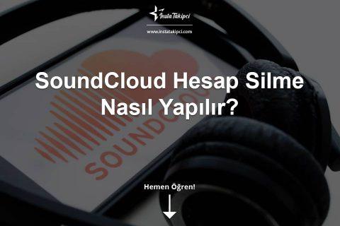 SoundCloud Hesap Silme