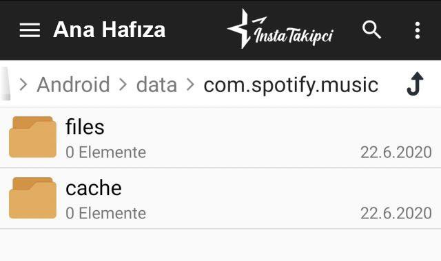 spotify şarkıları nereye indiriyor