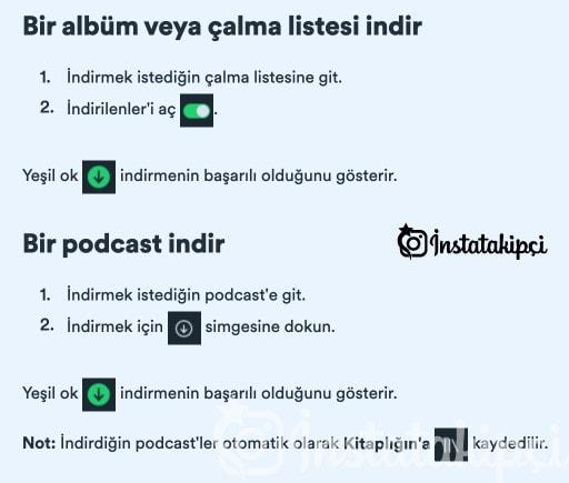 spotify müzik indirme