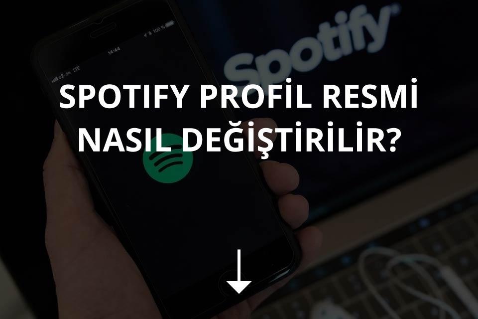 Spotify Profil Resmi Değiştirme