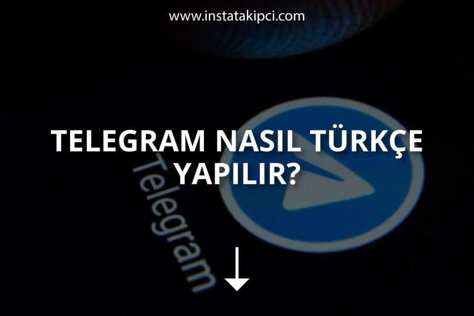 Telegram Nasıl Türkçe Yapılır?
