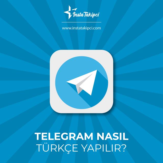 telegram nasıl türkçe yapılır