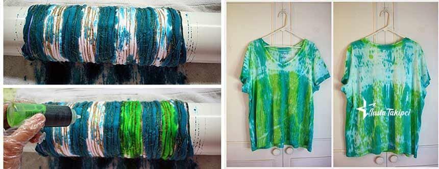 tiktok trend batik boyama