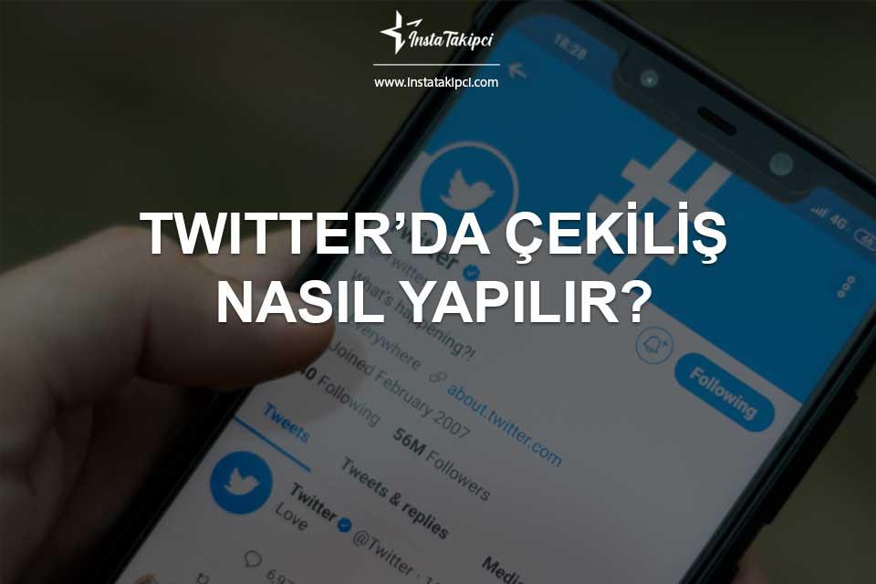 Twitter'da Çekiliş Nasıl Yapılır?