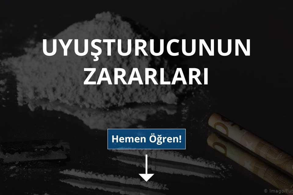 Uyuşturucunun Zararları