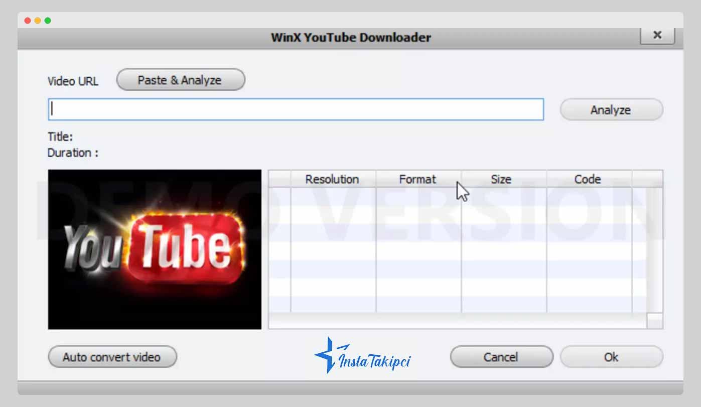winx youtube downloader toplu video indirme aracı