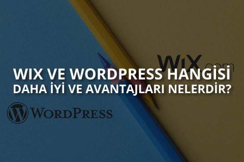 Wix vs WordPress Hangisi Daha İyi?