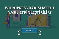 WordPress Bakım Modu