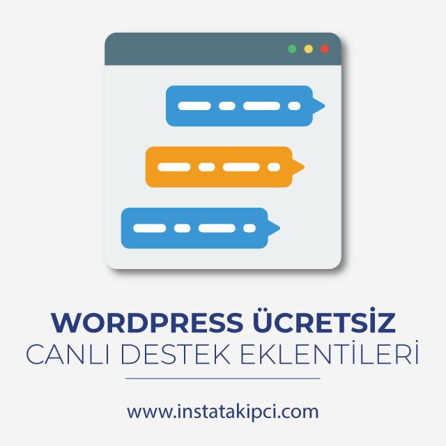 wordpress canlı destek eklentileri