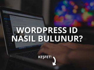 WordPress ID Nasıl Bulunur?