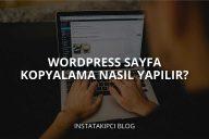 WordPress Sayfa Kopyalama