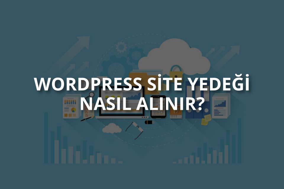 WordPress Site Yedekleme
