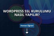 WordPress SSL Kurulumu Nasıl Yapılır?