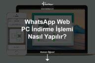 WhatsApp Web İndir