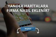 Yandex Haritalara Kayıt