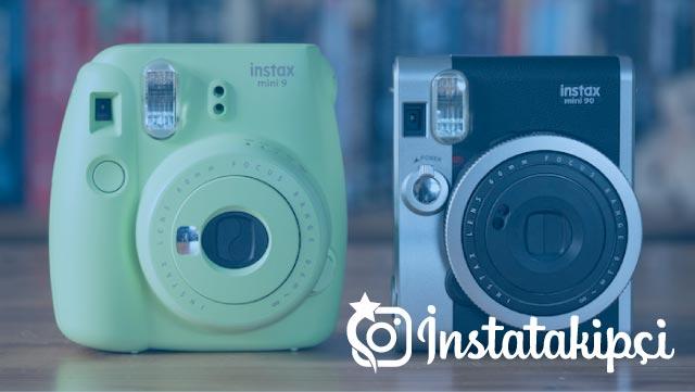 Yeni nesil instagram fotoğraf makineleri