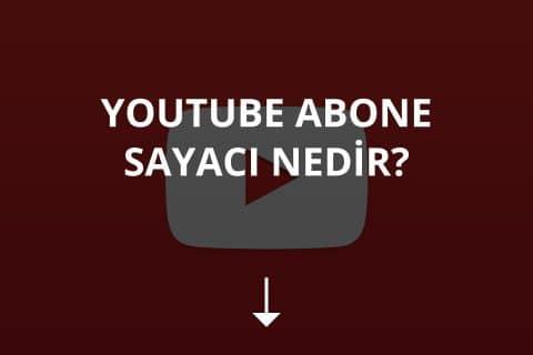 Youtube Abone Sayacı