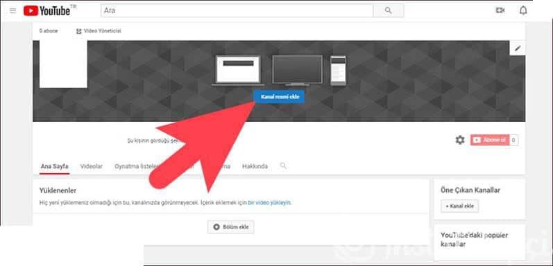 youtube profil resmi