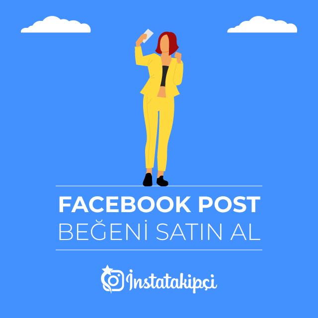 facebook post beğeni