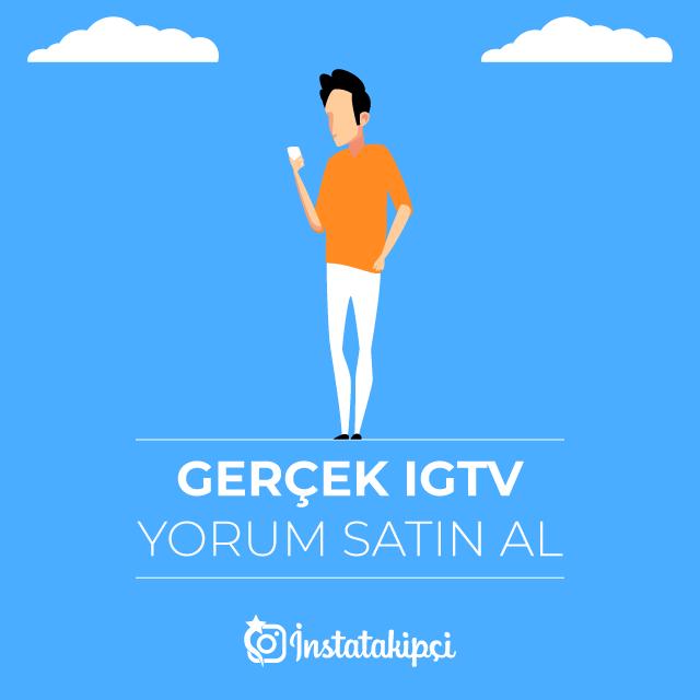 Gerçek IGTV Yorum Satın Al