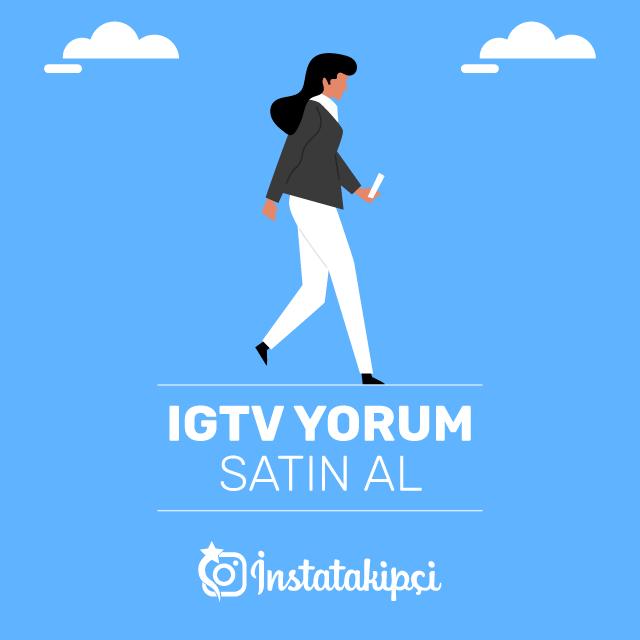 IGTV Yorum Satın Al