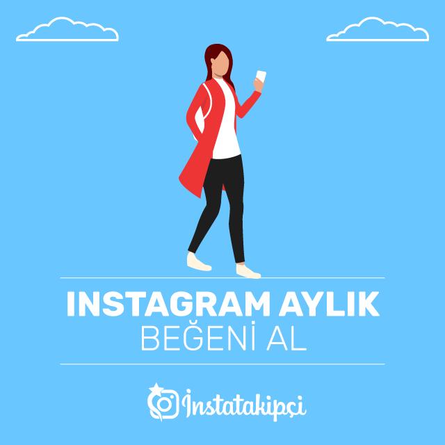 Instagram Aylık Beğeni Al
