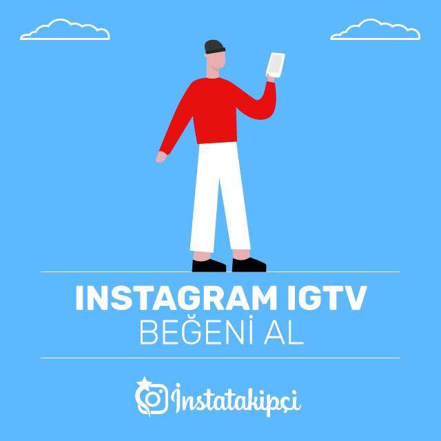 Instagram IGTV Beğeni Al