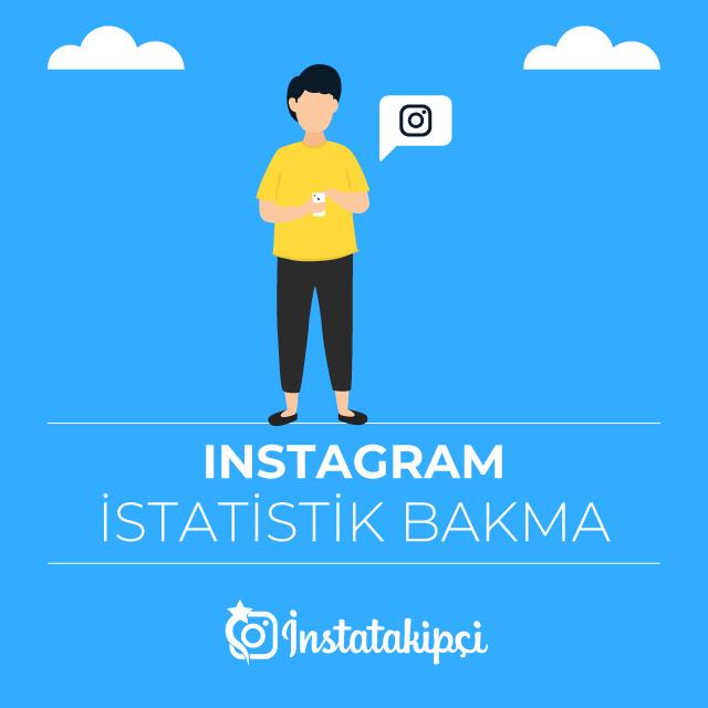 instagram istatistik bakma