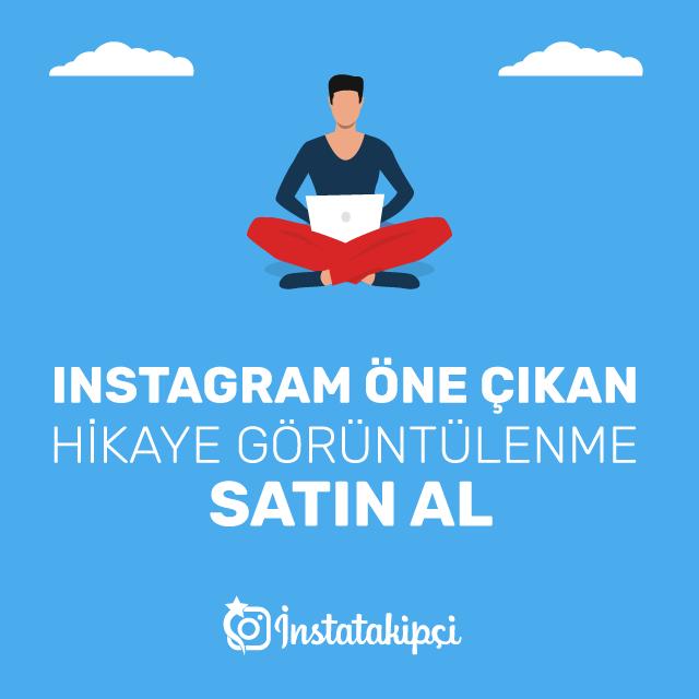 Instagram Öne Çıkan Hikaye İzlenme Satın Al