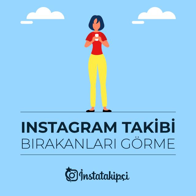 instagram takibi bırakanları görme