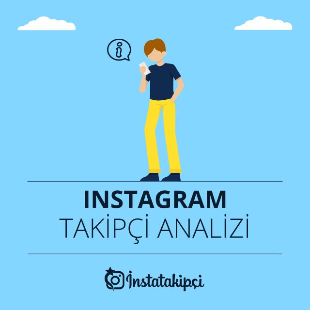 instagram takipçi analizi