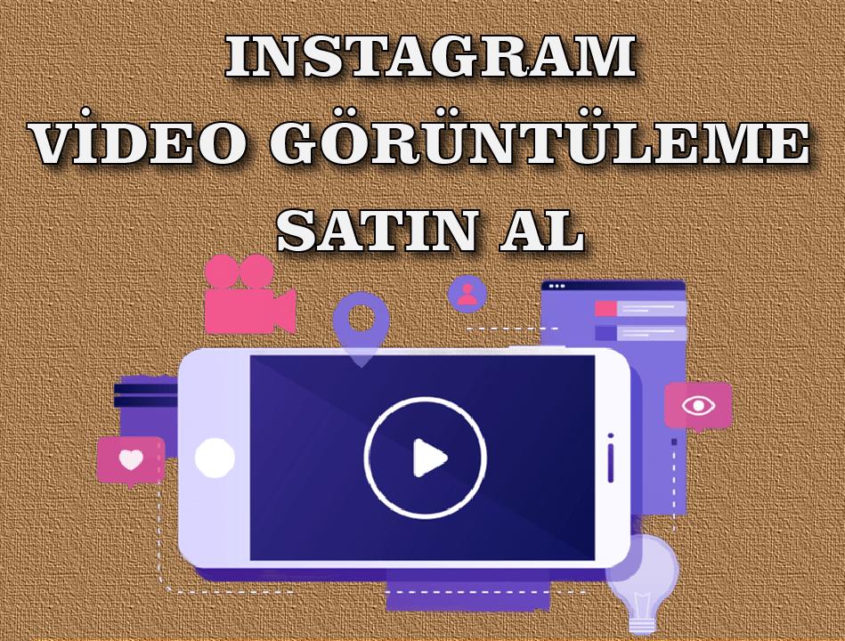Instagram Video Görüntüleme İzlenme Satın Al