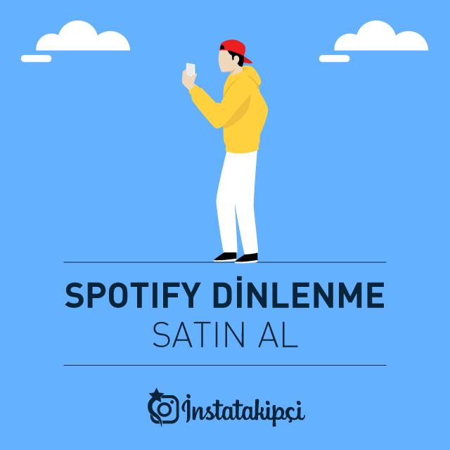 Spotify Dinlenme Satın Al
