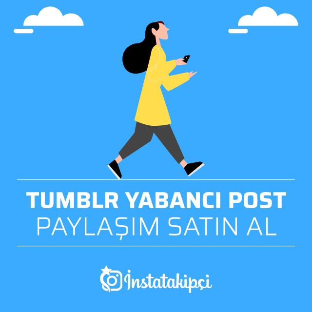 Tumblr Post Paylaşım Satın Al
